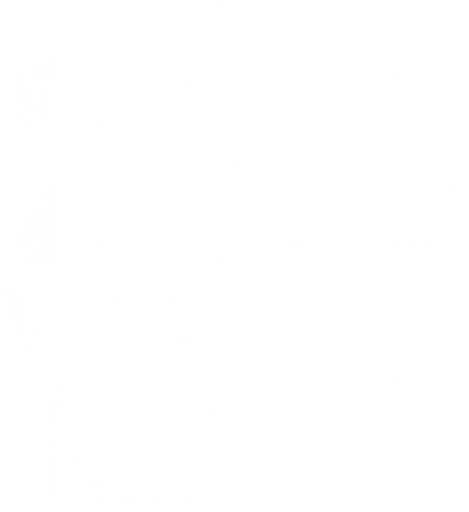 White 24/7 icon with a padlock